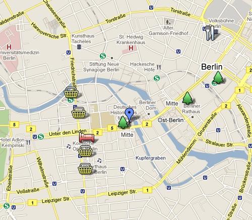 Berlinkarta december 2010