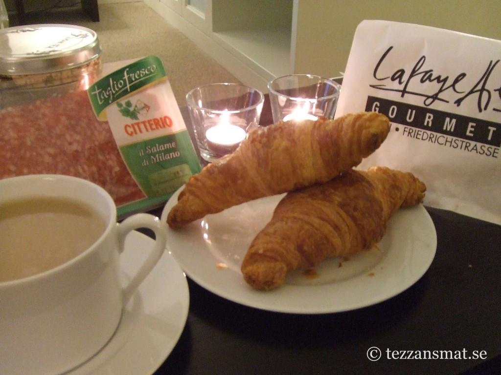Croissanter från Lafayette