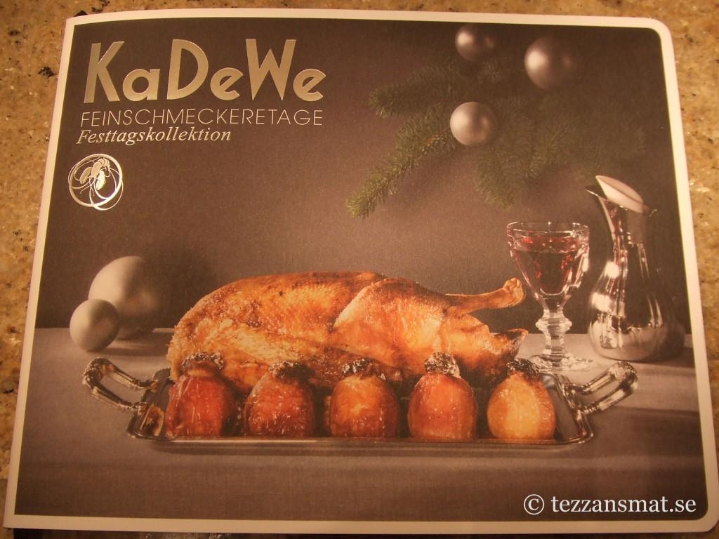 Mat från KaDeWe - framsida