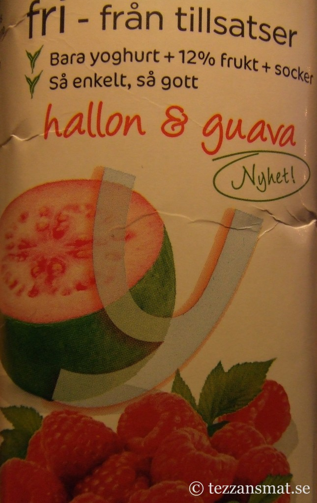 Yoggi fri - hallon och guava
